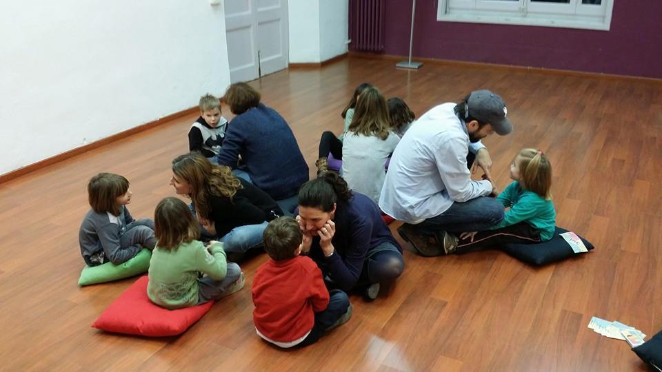 Taller Mut Kids en Centro Cívico Casa Sagnier